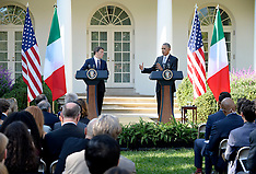 DC: President Obama holds a joint press conference with Prime Minister of Italy, 20 Oct. 2016