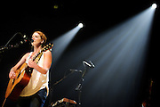 Kathleen Edwards performing in support of Bon Iver at the Pageant in St. Louis, Missouri on August 20, 2011. © Todd Owyoung.