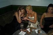 Constance Kyriazakall, Vanessa Miedler and Joanne Leigh. Weinstein Bafta after-party in association with Chopard. Bungalow 8. London. 10  February 2008.  *** Local Caption *** -DO NOT ARCHIVE-© Copyright Photograph by Dafydd Jones. 248 Clapham Rd. London SW9 0PZ. Tel 0207 820 0771. www.dafjones.com.