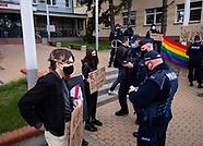 Białystok. Akcja Strajku Kobiet - 26.04.2021