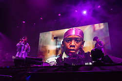 © Licensed to London News Pictures. 31/08/2019. Bristol, UK. MS LAURYN HILL headlines the main stage at the Downs Festival. Photo credit: Simon Chapman/LNP.