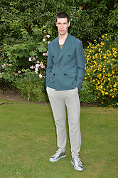 Clym Evernden at the Dulwich Picture Gallery's inaugural Summer Party, Dulwich Picture Gallery, College Road, London England. 13 June 2017.