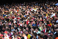 Football - 2021 / 2022 Women's Super League - Arsenal vs Chelsea - Emirates Stadium - Sunday 5th September 2021<br /> <br /> Fans watching the game.<br /> <br /> COLORSPORT/Ashley Western
