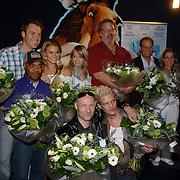 NLD/Amsterdam/20060327 - Premiere Ice Age 2, Sipke Jan Bousema, Chris Silos, Nicolette van Dam, Sita Vermeulen, Eddy Zoey, Jack Wouterse, Tygo Gernandt, Carlo Boszhard en Hilde de Mildt