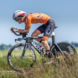 EMMEN (NED) June 16: <br />CYCLING <br />Dutch Nationals Time Trail men U23 <br />Bart Artz