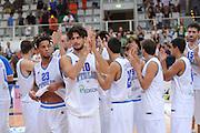 TRENTO, 26/07/2012<br /> TRENTINO BASKET CUP 2012<br /> ITALIA - BOSNIA ED ERZEGOVINA<br /> NELLA FOTO: TEAM ITALIA<br /> FOTO CIAMILLO