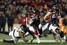 2018 CFL: OCT 19 Hamilton Tiger-Cats at Ottawa Redblacks