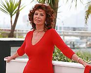 Sophia Loren at the Cannes Film Festival