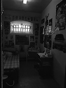 Women's Prison At Mountjoy.  (R98)..1989..16.03.1989..03.16.1989..16th March 1989..Mountjoy Prison for women originally opened in 1858 for female inmates of 18years and upwards. In 1956 due to the low number of women incarcerated the majority of the prison was handed over as a young male offender prison (St Patrick's Institution)..The women's section was transferred to the basement area of the existing building...Pictured is a single occupancy cell in the male section of Mountjoy Prison.