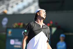 March 8, 2019 - Palm Desert, California, Usa - Tennis : BNP Paribas Open 2019 -  Daniel Taro - Japon (Credit Image: © Panoramic via ZUMA Press)