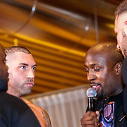 NLD/Almere/20190117 - Stare down van Boxing Influencers, Niels van der Zanden van Temptation Island tegen Alex Maas