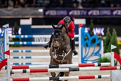 Schwizer Pius, SUI, Living The Dream<br /> Stuttgart - German Masters 2018<br /> © Hippo Foto - Stefan Lafrentz