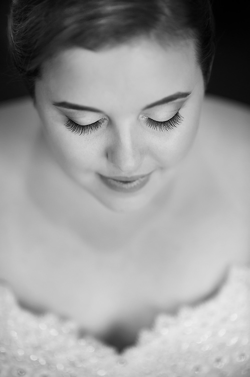 A bride at the DoubleTree by Hilton Hotel Tinton Falls - Eatontown.
