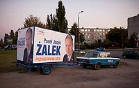 21.09.2011 Bialystok n/z reklama wyborcza posla PO Jacka Zalka fot Michal Kosc / AGENCJA WSCHOD
