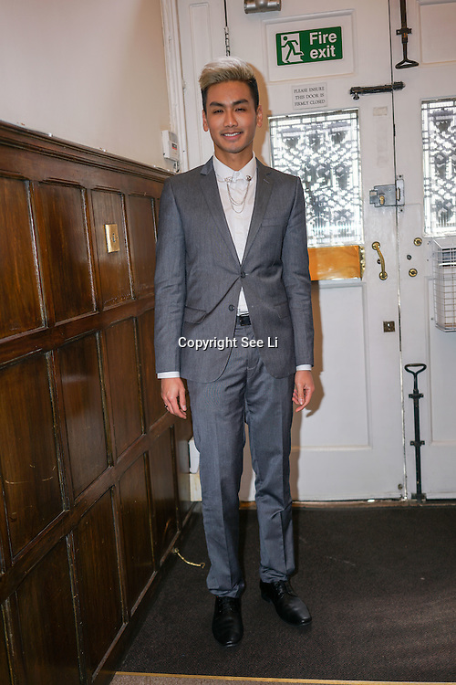 London,England,UK : 23th May 2016: Dr Vincent Wong of channel 5.<br /> filming it last explosives Channel 5 filming documentary why young people in UK getting into plastic surgery at Harley Street, London. Photo by See Li
