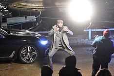 Chris Brown filming music video in Paris - 23 Jan 2019