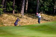 01-09-2016 Golffoto's van het Nationaal Open op de Hilversumsche Golf Club in Hilversum. Ronde 3.  Joost Steenkamer