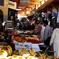 Africa, Morocco, Fes. Souks of Fes.