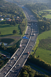 ©London News pictures...  .Generic file picture of the M25 motorway near junction 16 with the M40 in Buckinghamshire.