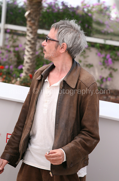Leos Carax at the Holy Motors photocall at the 65th Cannes Film Festival France. Wednesday 23rd May 2012 in Cannes Film Festival, France.