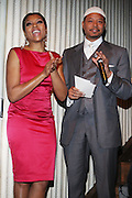 l to r: Taraji P. Henson and Terrence Howard at The Celebration of the Return of The Soul Train Awards and the Premiere of Centric Presents: 2009 Soul Train Awards held at La Pomme on Octobert 19, 2009. Terrence Jennings/Retna, Ltd