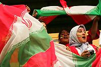 Fotball<br /> England 2005/2006<br /> Foto: SBI/Digitalsport<br /> NORWAY ONLY<br /> <br /> Queens Park Rangers v Iran<br /> Friendly. Loftus Road.<br /> 23/07/2005<br /> <br /> Iran's fans cheer on their team