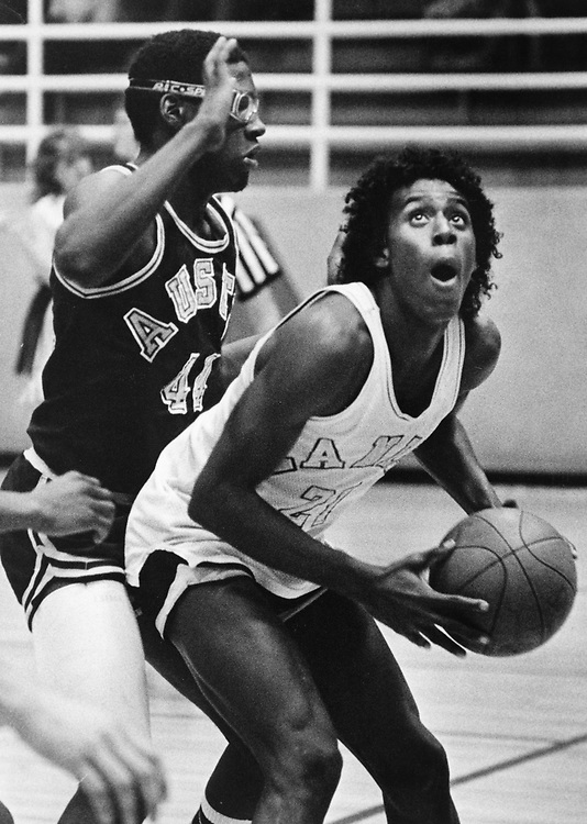 ©1986  Texas high school basketball finals coverage at the Erwin Center in Austin