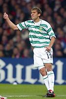 Fotball<br /> UEFA Champions League 2003/2004<br /> Foto: Digitalsport<br /> Norway Only<br /> <br /> 031210<br /> OLYMPIQUE LYONNAIS / LYON v CELTIC GLASGOW STILIAN PETROV (CEL)<br /> PHOTO LAURENT BAHEUX