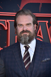 """David Harbour attends the premiere of Netflix's """"Stranger Things"""" Season 3 on June 28, 2019 in Santa Monica, CA, USA. Photo by Lionel Hahn/ABACAPRESS.COM"""