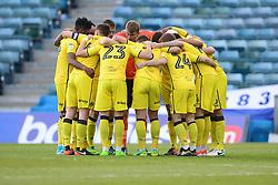 Bristol rovers huddle in prior to kick off. - Mandatory by-line: Alex James/JMP - 14/04/2017 - FOOTBALL - MEMS Priestfield Stadium - Gillingham, England - Gillingham v Bristol Rovers - Sky Bet League One