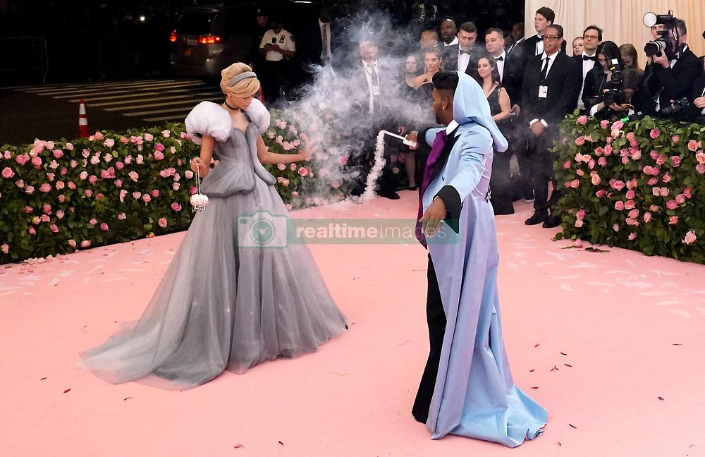 Zendaya attending the Metropolitan Museum of Art Costume Institute Benefit Gala 2019 in New York, USA.
