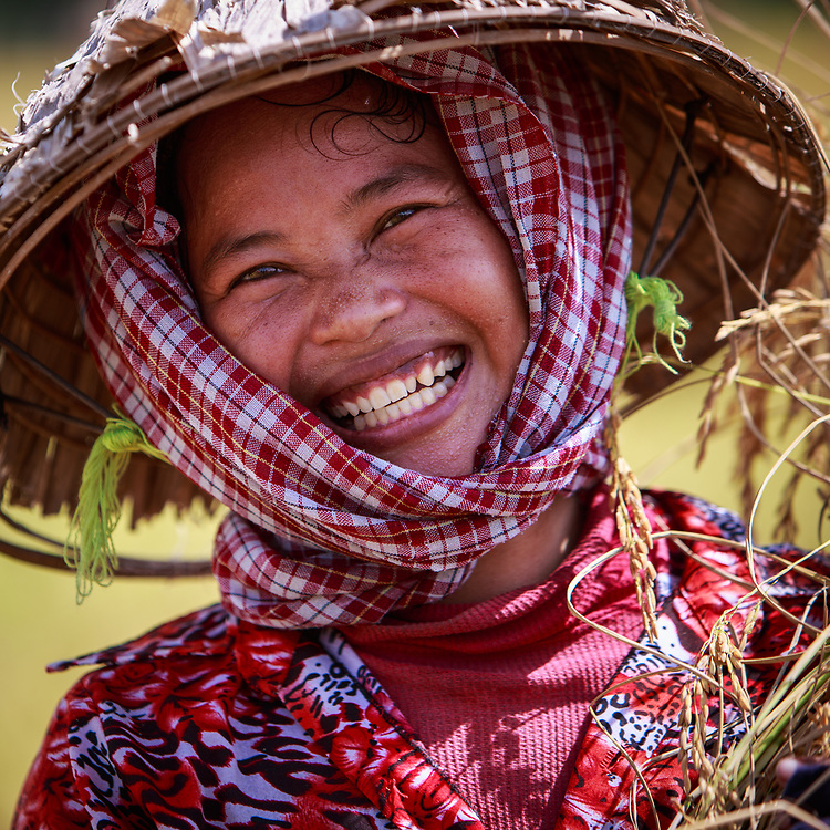 Happy people in Cambodia