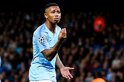 Gabriel Jesus of Manchester City cuts a frustrated figure - Mandatory by-line: Robbie Stephenson/JMP - 19/09/2018 - FOOTBALL - Etihad Stadium - Manchester, England - Manchester City v Lyon - UEFA Champions League Group F