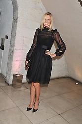 MALIN JEFFERIES at a private view of 'Valentino: Master Of Couture' at Somerset House, London on 28th November 2012.