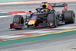 February 19, 2019 - Spain - Pierre Gasly (Aston Martin Red Bull Racing) seen in action during the winter test days at the Circuit de Catalunya in Montmelo  (Credit Image: © Fernando Pidal/SOPA Images via ZUMA Wire)