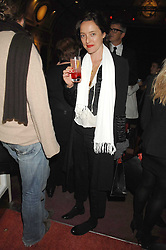 ALICE TILBURY at the Grand Classics screening of the film 'Don't Look Now' sponsored by Motorola held at The Electric Cinema, 181 Portobello Road, London W11 on 24th September 2007. <br /><br />NON EXCLUSIVE - WORLD RIGHTS