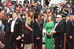 May 14, 2019 - Cannes, France - 72th International Cannes Film Festival. Red Carpet of ''Dead don't die'' screening..72eme Festival International du Film de Cannes. Montee des marches du film ''les morts ne meurent pas''.....239112 2019-05-14  Cannes France.. de Maigret, Caroline; Poupaud, Yarol (Credit Image: © L.Urman/Starface via ZUMA Press)