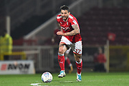 Marc Richards (17) of Swindon Town during the EFL Sky Bet League 2 match between Swindon Town and Yeovil Town at the County Ground, Swindon, England on 10 April 2018. Picture by Graham Hunt.