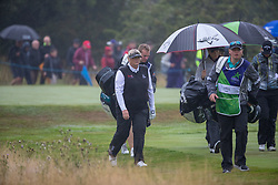 Great Britain's Dame Laura Davies makes her way to the 16th hole during her Semi Final match with Sweden this morning during day eleven of the 2018 European Championships at Gleneagles PGA Centenary Course. PRESS ASSOCIATION Photo. Picture date: Sunday August 12, 2018. See PA story GOLF European. Photo credit should read: Kenny Smith/PA Wire. RESTRICTIONS: Editorial use only, no commercial use without prior permission