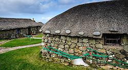 Skye Museum of Island Life, Kilmuir, Isle of Skye, Scotland<br /> <br /> (c) Andrew Wilson | Edinburgh Elite media