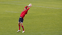 Rugby Union - 2017 British & Irish Lions Tour of New Zealand - Captains Run <br /> <br /> Liam Williams reaches to catch a call during the Captains Run at The QBE Stadium, Auckland. <br /> <br /> COLORSPORT/LYNNE CAMERON