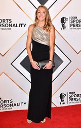 Paula Radcliffe during the red carpet arrivals for the BBC Sports Personality of the Year 2018 at The Vox at Resorts World Birmingham.