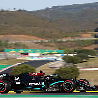 24.10.2020, Autódromo Internacional do Algarve, Portimao, FORMULA 1 HEINEKEN PORTUGUESE GRAND PRIX 2020,im Bild<br />Lewis Hamilton (GB#44), Mercedes-AMG Petronas F1 Team<br /> <br /> Foto © nordphoto / Bratic