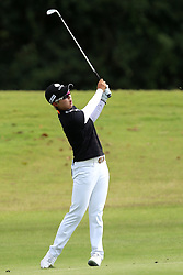 March 2, 2019 - Singapore - Hyo Joo Kim of South Korea plays a shot on the 2nd hole during the third round of the Women's World Championship at the Tanjong Course, Sentosa Golf Club. (Credit Image: © Paul Miller/ZUMA Wire)