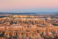 Sunset over Bryce Canyon, Bryce Canyon National Park Utah