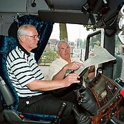 Teun en Dries Baas Internationaal transport Huizen