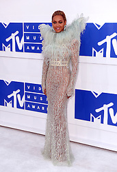 Beyonce Knowles arriving at the MTV Video Music Awards 2016, Madison Square Garden, New York City. PRESS ASSOCIATION Photo. Picture date: Sunday August 28, 2016. See PA story SHOWBIZ MTV. Photo credit should read: PA Wire