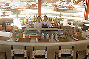 Crudo Bar at Capella Pedregal.© LA76 Photography  Crudo Bar at Capella Pedregal, offering a fresh selection of ceviches, tiraditos and rolls, with sake cocktails.