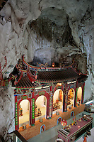 Sam Poh Tong cave temples - these picturesque structures embedded within the high limestone caves and cavities located near Gunung Rapat just outside Ipoh are a sight to behold.  There are impressive works of art, with statues of Buddha in various forms among natural stalactities and rock formations.