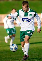 Enes Rujovic of Olimpija  at 18th Round of PrvaLiga football match between NK Olimpija and NK Labod Drava, on November 21, 2009, in ZAK, Ljubljana, Slovenia. Olimpija defeated Drava 3:0. (Photo by Vid Ponikvar / Sportida)